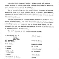 Newsletter February 1970